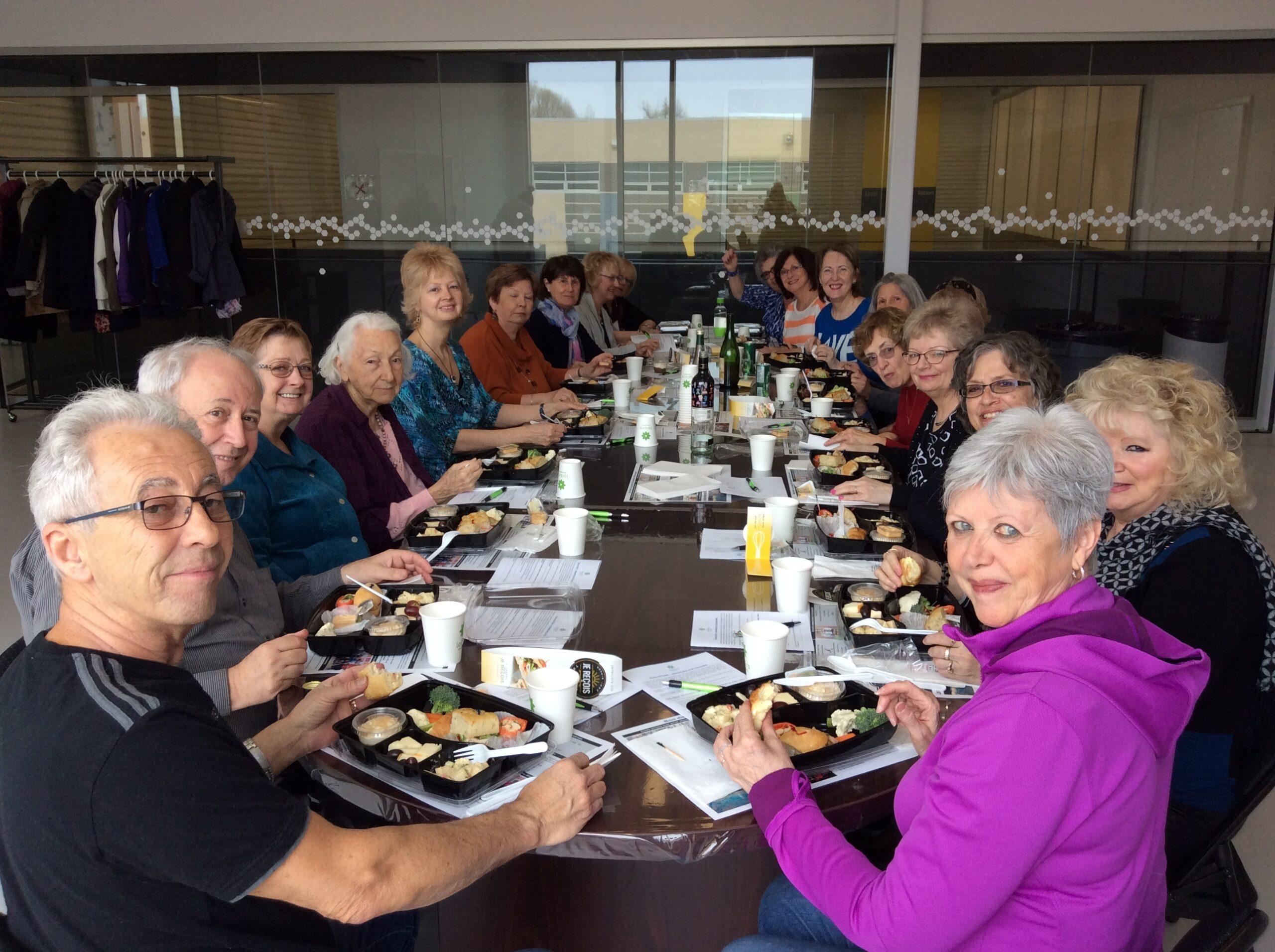 Activités communautaires pour aînés