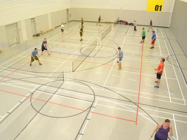 Réservation de terrain de badminton et pickleball