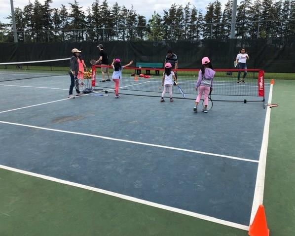 Cours de tennis pour enfants